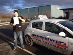 JOSH MEHEW passed with Independence Driving School