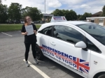 ELLIE WATERFIELD passed with Independence Driving School