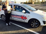 ALEX POWELL passed with Independence Driving School