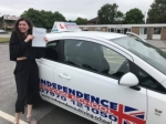MAIA CLARKE passed with Independence Driving School