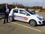 ADAM UPTON passed with Independence Driving School