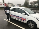 AINSLEY ELKINGTON passed with Independence Driving School