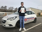 ALEX HENSHAW passed with Independence Driving School