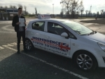 ALEX JOHNSON passed with Independence Driving School