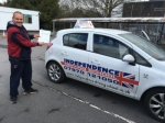 ALEX WILSON passed with Independence Driving School