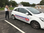 ALISHA DURO passed with Independence Driving School