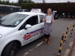 AMY SWARBROOKE passed with Independence Driving School