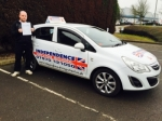 ANTHONY BUTCHER passed with Independence Driving School
