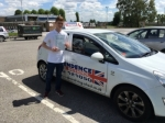 Arron Sheperd passed with Independence Driving School