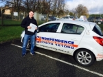 ASHLEY NEEDHAM passed with Independence Driving School