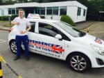 BRADLEY GOUGH passed with Independence Driving School