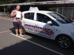 CHARLIE MAYES passed with Independence Driving School
