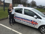CHARLOTTE CARTER passed with Independence Driving School