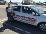 CHARLOTTE CRUISE passed with Independence Driving School