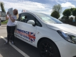 CHARLOTTE GARLAND passed with Independence Driving School
