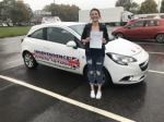 CHARLOTTE PLATTS passed with Independence Driving School