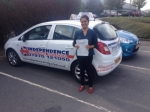 CHARMALEE JAYAMAYA passed with Independence Driving School