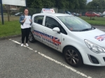 CHELSIE BROWN passed with Independence Driving School