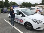 COURTNEY REYNOLDS passed with Independence Driving School