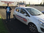 Daniel Dunning passed with Independence Driving School