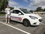 DAN GARNETT passed with Independence Driving School