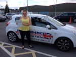 Danielle Knight passed with Independence Driving School