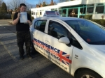 DAVID WOODS passed with Independence Driving School