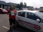 James Powell passed with Independence Driving School