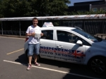 Edward Holwell passed with Independence Driving School