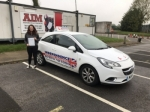 ELEANOR HYDE passed with Independence Driving School
