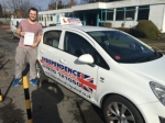 ELLIOTT BARLOW passed with Independence Driving School