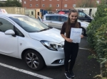 EMILY PARNILL passed with Independence Driving School