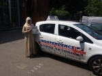 Fareen Asghar passed with Independence Driving School