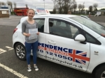 HANNAH KIRKPATRICK passed with Independence Driving School