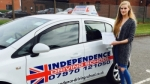 HARRIET FERGUSON passed with Independence Driving School
