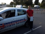 JACSUN CURTIS passed with Independence Driving School