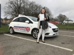 jess cook  passed with Independence Driving School