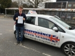 JIM CHARNOCK passed with Independence Driving School