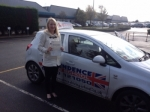 JOANNE STEVENS passed with Independence Driving School