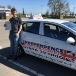JOEL DILKS  passed with Independence Driving School