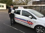 Joseph Gabtielli passed with Independence Driving School