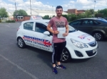 JOSHUA CAIRNS passed with Independence Driving School