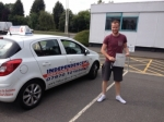 Josh Thornton passed with Independence Driving School