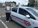 JOSIE PAINTER passed with Independence Driving School