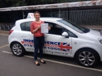KATIE BATES passed with Independence Driving School