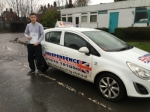 LEWIS MOORHOUSE  passed with Independence Driving School
