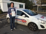 LEWIS WHITE passed with Independence Driving School