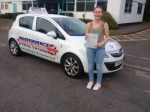 LIZZIE TOKARSKI passed with Independence Driving School