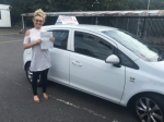 LORNA HORSFALL passed 26/07/2016 passed with Independence Driving School