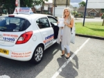 LOUISE HUTCHINSON passed with Independence Driving School